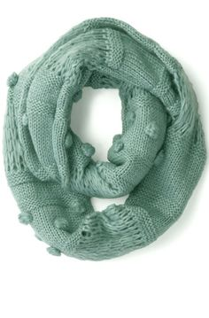 Circle scarf in mint
