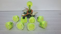 Sanwa JLF-TP-8YT Joystick OBSC-30-CY Clear Yellow balltop and Translucent shaft cover and dust washer Sanwa http://www.amazon.com/dp/B00MAIYVA0/ref=cm_sw_r_pi_dp_MUM2tb0KVQH2FZEE