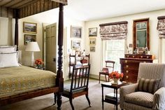 New Home Interior Design: An Elegant Federal Style Country House
