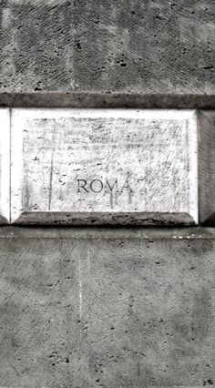 Ivo Bonacorsi #003 : Cemento romano