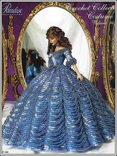 Barbie Crochet: Dress From Paradise Dolls - Pattern