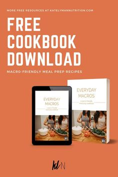 Grab the full version of the cookbook here! While Flexible Nutrition gives you the freedom to eat whatever you want, figuring out what to cook can be tough at first. This cookbook is here to provide helpful recipes so you can easily plan your week ahead of time and simplify the process of prepping your meals. Set yourself up for success with our Everyday Macros recipe book and achieve your health and weight loss goals. #katelymannutrition #optimumnutrition #macrocooking #macrotracking… Macro Friendly Recipes, Macro Recipes, Macro Meals, Herb Recipes, Recipes Dinner, Clean Eating Diet, Healthy Eating, Meal Plan Printable, Easy Healthy Recipes