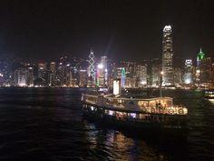 Victoria Harbour, Wan Chai Ferry