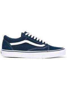 VANS lace-up sneakers. #vans #shoes #flats