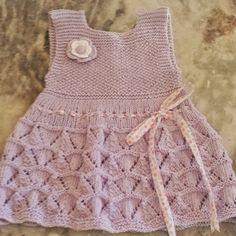 vestidos de tricô para bebe …