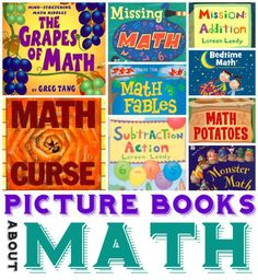Math Picture Books for Ages 3-10