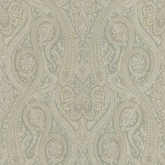 Brewster Home Fashions Joseph Abboud Designed Paisley Wallpaper in Neutral