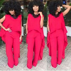 Exceptional Wedding Guests Outfits You Would Definitely Love - Wedding Digest NaijaWedding Digest Naija Jumpsuit For Wedding Guest, Wedding Attire, African Fashion, Dress To Impress, Plus Size Fashion, Designer Dresses, Like4like, Creations, Dress Up