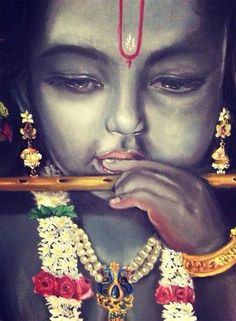 ✨ KRISHNA ✨ Very pretty picture, love the details. Baby Krishna, Krishna Radha, Little Krishna, Krishna Leela, Cute Krishna, Radha Krishna Wallpaper, Lord Krishna Images, Radha Krishna Images, Krishna Pictures