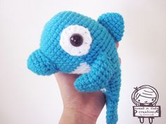 Ravelry: Daddy and Baby Dolphin crochet pattern by Shannen C