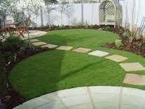 A simple path across a garden can really transform the look