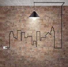 #brick #wall #chicago #design #interior #tile #ceramic #collection