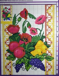 Ely, Diy And Crafts, Cross Stitch, Pastel, Kids Rugs, Decor, Cross Stitch Letters, Cross Stitches, Cross Stitch Embroidery