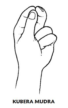 "Kubera Mudra. Use it when you want to put more force behind your plans for the future.""It always involves goals that people want to reach or wishes that they would like to have fulfilled."" - Gertrud Hirschi"