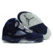 314259-041 Air Jordan 5 (V) Retro LS Black University Blue White A05008 $105.00 http://www.thebluekicks.com/