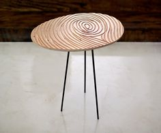 FINGERPRINT  coffee table by micklish on Etsy, $300.00
