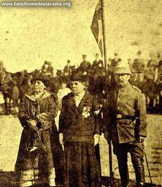 """Fotografías Históricas de los Batallones de Atacama.Cantinera Filomena Valenzuela Goyenechea  Vivandier Filomena Valenzuela Goyenechea belonged to the """"Atacama Battalion"""""""
