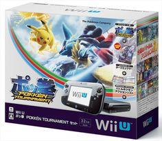 NEW Wii U Pokken Tournament Set Nintendo Amiibo Card Dark Mewtwo Pokémon Japan