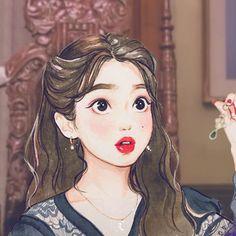 ఇ wonder ఇ ( Art Anime, Anime Art Girl, Cute Illustration, Character Illustration, Character Art, Character Design, Cartoon Kunst, Kpop Drawings, Korean Art