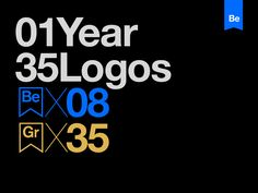 "Check out this @Behance project: ""1 Year 35 Logos"" https://www.behance.net/gallery/59522699/1-Year-35-Logos"