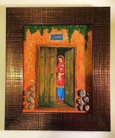 """Persian painting by Saman Price: 120$  Size: 13"""" x 9"""""""
