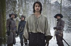 three musketeers british series 2014 - Google Search