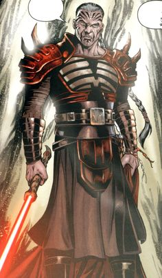 Darth Krayt master of the One sith Order