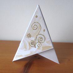 Teepee card s ornamentem