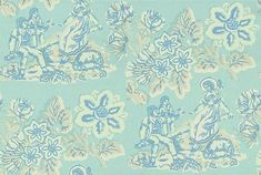 Girl on a see saw wallpaper by Anna French