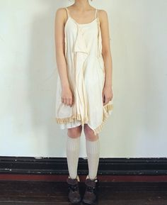 loose scullery maid undergarments dress for summer <3