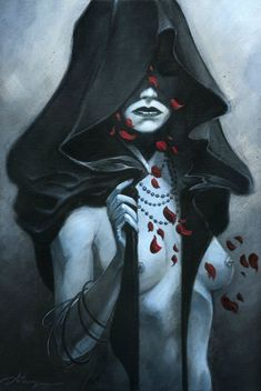 The incredible art of Anthony Jean - This is sometimes how I think of Hecate, beautiful but hardly to be trifled with.