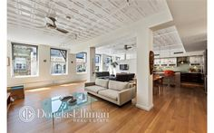 Co-op for sale in Tribeca, Manhattan for $2,750,000, 4 rooms, 2 beds, 2 baths