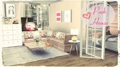 Sims 4 - Pink House