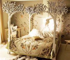 forest bedroom #posh