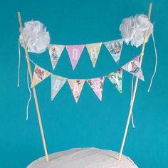 Peter Rabbit Cake banner baby shower baby by Hartranftdesign