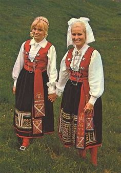 Folk Costume from the Smolandia / Småland Provence in Sweden