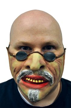 This latex mask lets you look exactly like Gollum from the Lord of