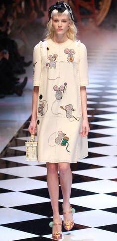 Disney Fangirls Will Freak Over Dolce & Gabbana's Fall Runway Show