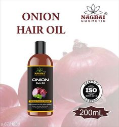 Checkout this latest Herbal Oil Product Name: *New Usefull Hair Care * Product Name: New Usefull Hair Care  Brand Name: Nagbai Multipack: 5 Flavour: Onion Country of Origin: India Easy Returns Available In Case Of Any Issue   Catalog Rating: ★4.5 (445)  Catalog Name: Nagbai Proffesional Gentle Herbal Oil CatalogID_1083544 C166-SC2033 Code: 842-6791388-135