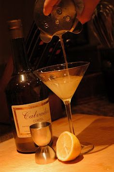 Calvados Cocktail – Apple Sidecar