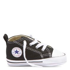 091c7411e2cf Baby Converse Chuck Taylor First Star Infant High Top Black