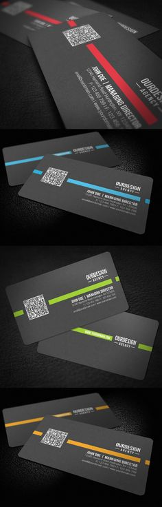 Rounded Corner QR Code Business Card by ~glenngoh on deviantART  http://www.techirsh.com
