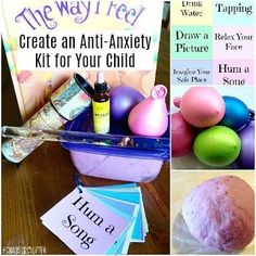 Create an Anti-Anxiety Kit to help your child