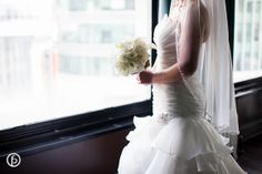 The Midland Wedding   Freeland Photography   dress + flowers