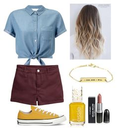 """""""stylishness"""" by mayaandrews88 on Polyvore featuring Miss Selfridge and Converse"""