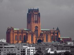 Liverpool Cathedral .. Largest in the UK , and 5th largest in the world.