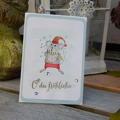 Papierkult: Süße Weihnachtsmaus und das tolle Novemberangebot