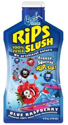 Cool Tropics Blue Raspberry Slush