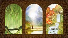 Secret of Kells Triptych