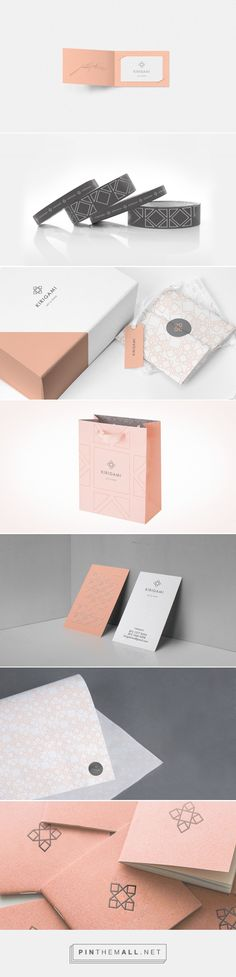 Kirigami on Behance by CHAPTER ® Monterrey, Mexico curated by Packaging Diva PD. Desarrollo de marca para Kirigami. Graphic design, packaging, branding.